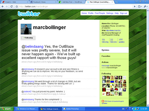 Marc Bollinger on Twiiter